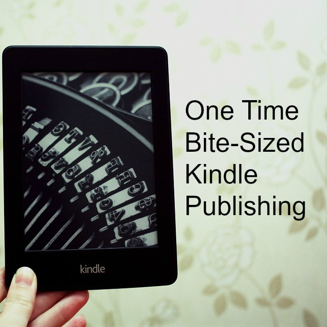 bite sized kindle book publishing