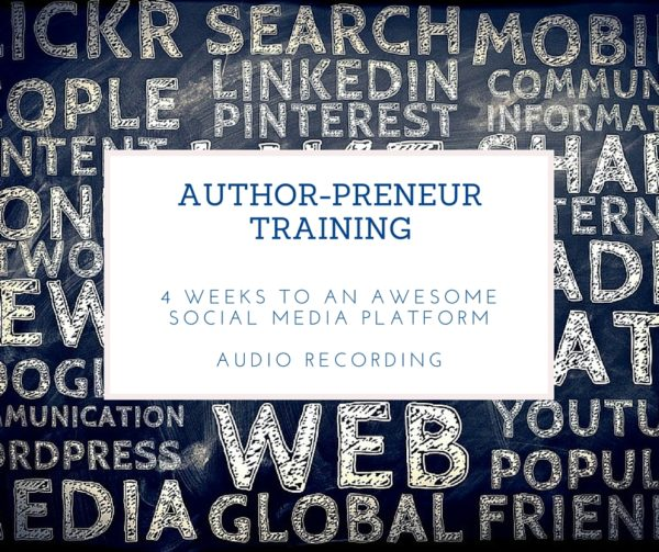 4 weeks to an awesome social media audio recording