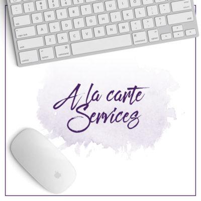 À La Carte Services