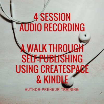 how to self publishing using kindle and createspace