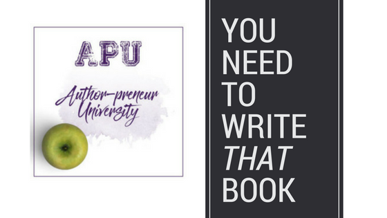 Announcing Author-Preneur University